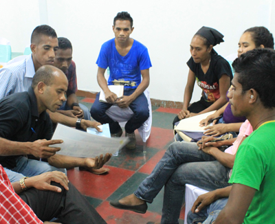 Toolkit training session in East Timor